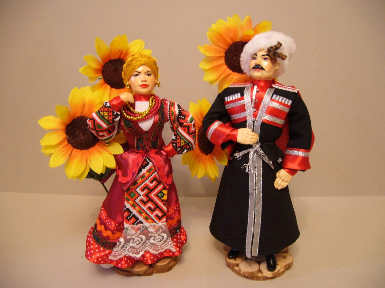 Как сшить куклу своими руками казака и казачку 28